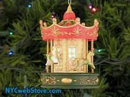 musical carousel ornament