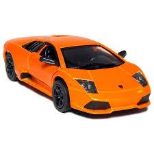 Lamborghini Murcielago Orange - amazon com kinsmart 1 36 scale diecast lamborghini murcielago