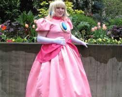 Princess Peach Halloween Costume Princess Peach Etsy