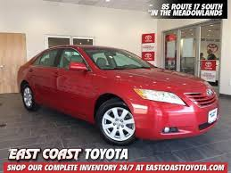 east coast toyota used cars 2007 toyota camry xle in jersey for sale used cars on