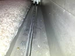 Patio Door Track Replacement How Do I Repair A Warped Sliding Glass Door Track Home