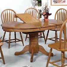 pedestal dining table with leaf oval dining table with leaf healthrising co