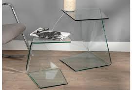 bout de canapé en verre bout de canapé design verre canapé idées de décoration de