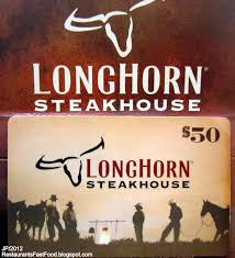 longhorn gift cards augusta richmond columbia restaurant bank attorney