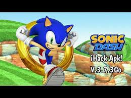 sonic dash apk descarga sonic dash hack apk v 3 7 3 go