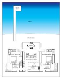 beach house layout beach house floor plan raised plans cottage narrow lot with front