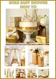 gold baby shower creative decoration gold baby shower absolutely smart rustic chic