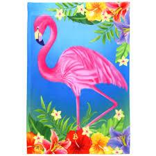Decorative Garden Flags Pink Flamingo Garden Flag 0589fm Mardigrasoutlet Com