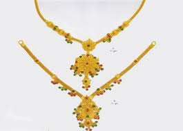 short necklace images Gold short necklace service provider from udupi jpg