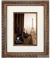 burnes photo albums tacita gold w ivory linen fillet mat 8x10 5x7 by burnes picture