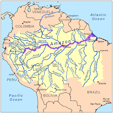 Louisiana Rivers Map Online Maps Amazon River Map