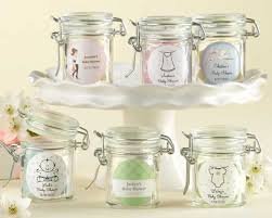 personalized baby shower favors personalized glass baby shower favor jars set of 12
