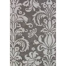 Damask Rugs Grey Damask Rug Rugs Ideas