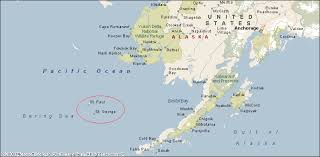 map of aleutian islands deadliest catch geography the pribilof islands deadliest reports