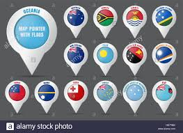 Different Countries And Their Flags Fiji National Flag All Countries Collection Isolated Image