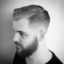mens comb ove rhair sryle taper fade haircut for men 50 masculine tapered hairstyles