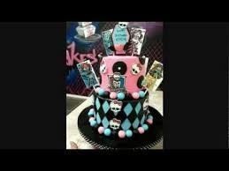 monster high themed birthday cake youtube