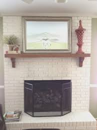 captivating paint colors that go with brick fireplace photos