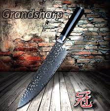 japanese damascus kitchen knives chef knife japanese damascus knife 67 layers damascus kitchen