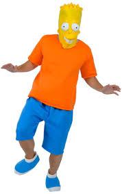 Halloween Costumes Simpsons Bart Simpson Costume Bart Simpson Costume Simpsons Costumes