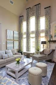 Living Room Window Curtains by Best 20 Tall Window Treatments Ideas On Pinterest Tall Window
