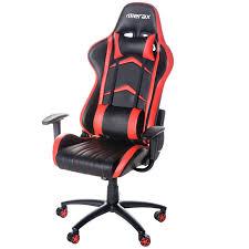 gaming computer desk merax high back racing gaming computer desk office chair pu