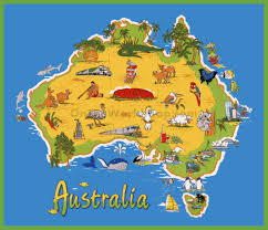 Travel Maps Download Australia Travel Map Major Tourist Attractions Maps