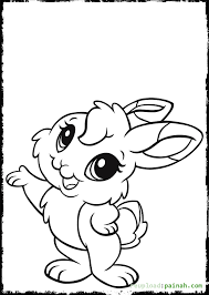90 coloring pages cute bunny rabbit coloring