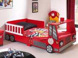 chambre enfant pompier lit voiture pour garçon chambre enfant