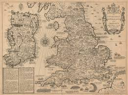Old World Map England And Ireland Old World Map Antique World Map Maps