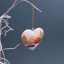 london themed christmas decorations buy online