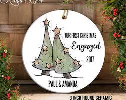 engagement ornament etsy