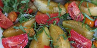 plum and tomato salad oregonian recipes