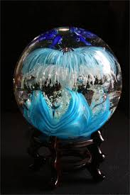 Gazing Ball Pedestals 252 Best Gazing Balls Images On Pinterest Garden Ideas