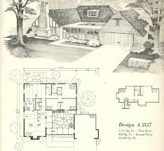 vintage house plans 1970s homes tudor style miscellaneous