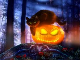 1080p halloween wallpaper black cat halloween wallpaper widescreen