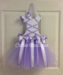 bow holders tutu dress hair bow holder lavender gift for christmas