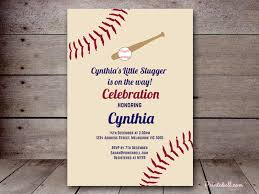 baseball wedding invitations kids party invitations printabell create