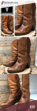 s frye boots size 9 vintage frye heeled boots size 9 heel boots westerns