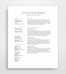 The Perfect Resume Example by Classical Professional Resume Template With A Two Column Format
