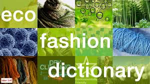 eco fashion dictionary a z contents