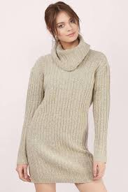 cute taupe day dress taupe dress cowl neck dress day dress