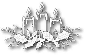 memory box glowing candles die 98661 123stitch