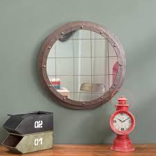 Miroir Industriel Maison Du Monde by Miroir Rond Maison Du Monde Simple Miroirs Dans Monte Duescalier