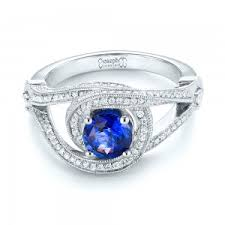 design ring sapphire engagement rings custom design rings in bellevue and seattle