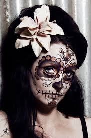 Day Of The Dead Halloween Makeup Ideas 234 Best Day Of The Dead Images On Pinterest Sugar Skulls Candy