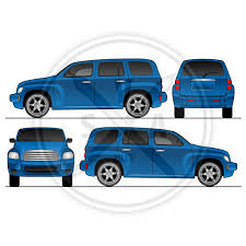 suv wrap template archives stock vector art