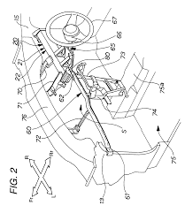patent us6450533 steering column hanger beam structure google