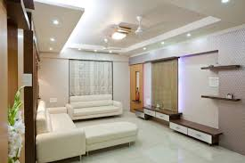 Living Room Design Long Room Indoor Simple Family Room Interior Design With Long Sofa White