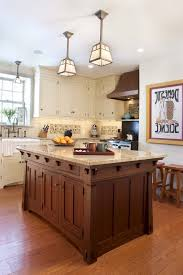 mission style kitchen island craftsman style kitchen island kitchen traditional with copper